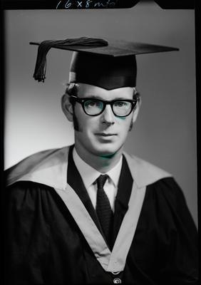 Film negative: Mr Cherry, graduate