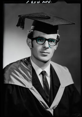Film negative: Mr Blackmore, graduate