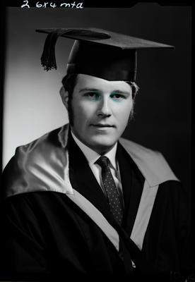 Film negative: Mr Rollingon, graduate