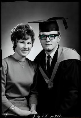 Film negative: Mr G F Sutton, graduate
