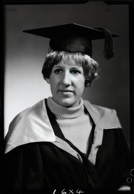 Film negative: Miss S J Skinner, graduate