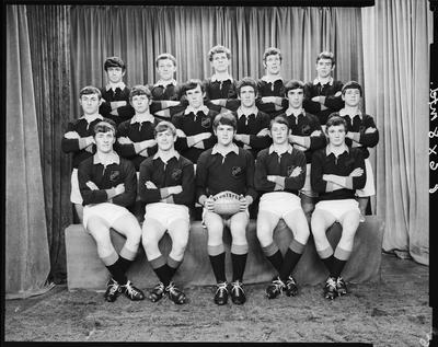 Film negative: St Bedes College, rugby, first XV