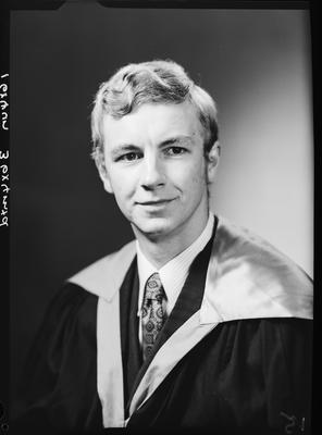 Film negative: Mr Strack, graduate