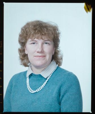 Negative: Ms Cleland Passport Photo