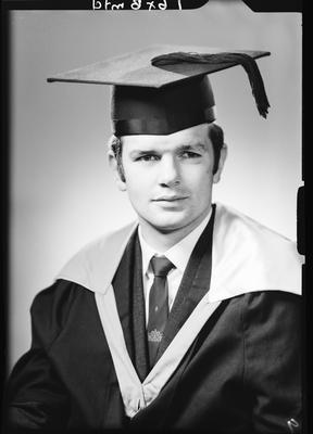 Film negative: Mr Strombon, graduate