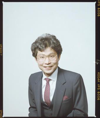 Negative: Mr Yuzoh Tashiro Passport Photo