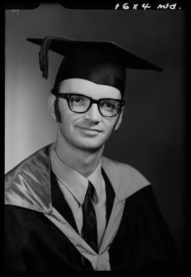 Film negative: Mr A Fagan, graduate