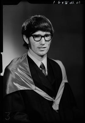 Film negative: Mr N W Galvin, graduate