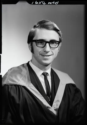 Film negative: Mr Baine, graduate