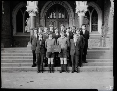 Film negative: Christchurch Boys High School: class 6E11