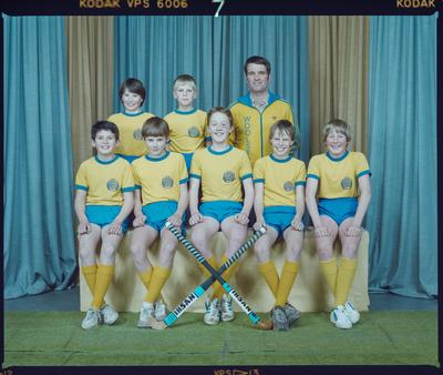 Negative: Woolston Workingmen's Club Indoor Hockey Team