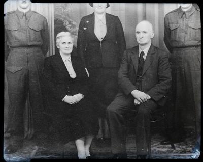 Film negative: Mr Wear, couple