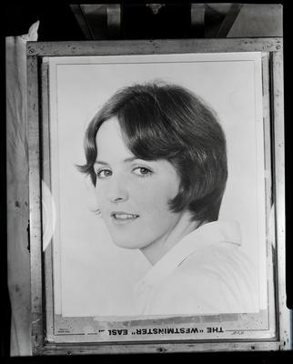Film negative: Mr Austin, unidentified woman