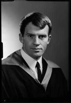 Film negative: Mr Britt, graduate