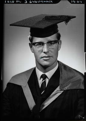 Film negative: Mr Best, graduate