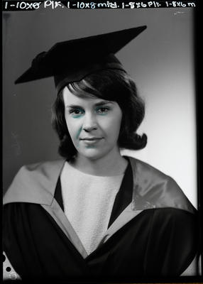Film negative: Miss Price, graduate