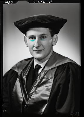 Film negative: Mr Bryant, doctorate graduate