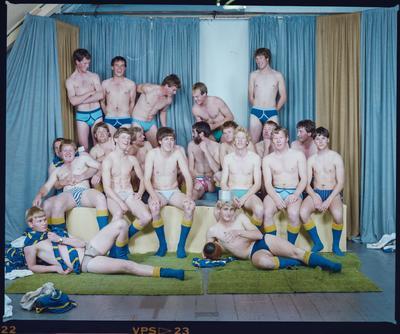 Negative: Lincoln College U21 B Rugby 1985