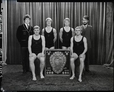 Film negative: Christchurch Boys High School: life saving team