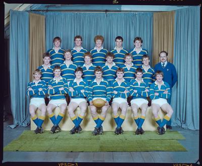 Negative: Lincoln College U18 Rugby 1985