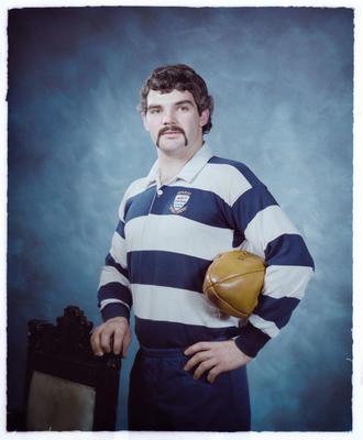 Negative: Mr Keenay Rugby Portrait