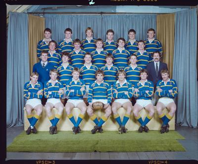 Negative: Lincoln College 2nd XV Rugby 1985