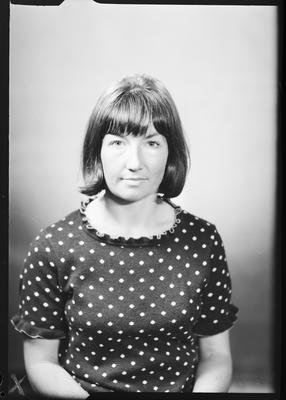Film negative: Miss G Dunlop