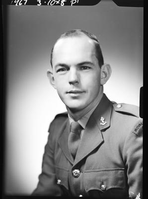 Film negative: Corporal MacDonald, New Zealand Royal Engineers