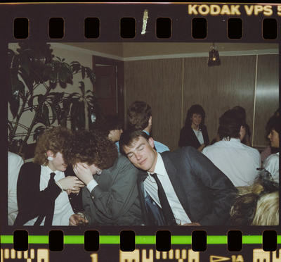 Negative: Group At The ANZ Ball 1985