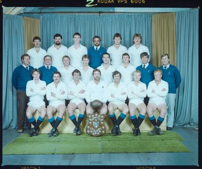 Negative: HSOB Senior B Rugby Team 1985