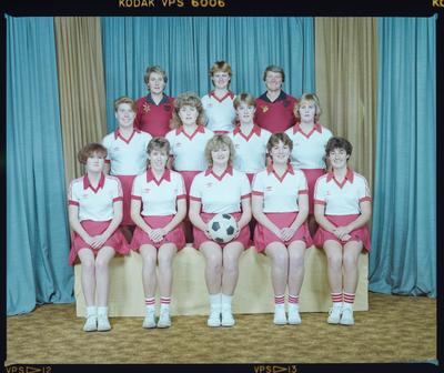 Negative: Canterbury Country Womens Netball Team 1985