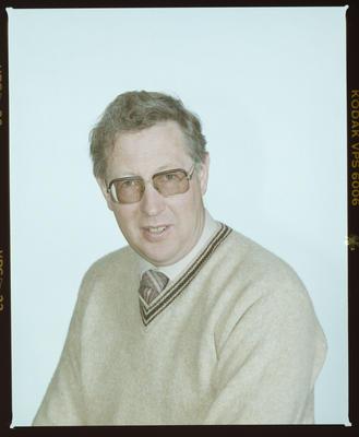 Negative: Bruce Nicholls Passport Photo