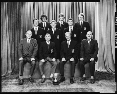 Film negative: Harewood Golf Club, group of ten