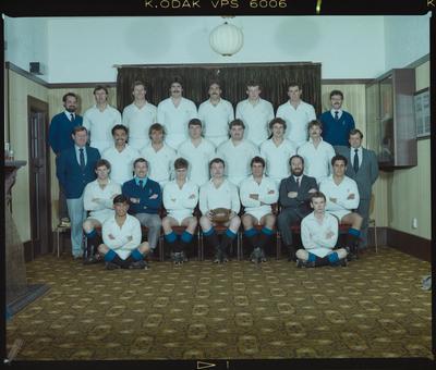 Negative: HSOB Rugby Team 1985