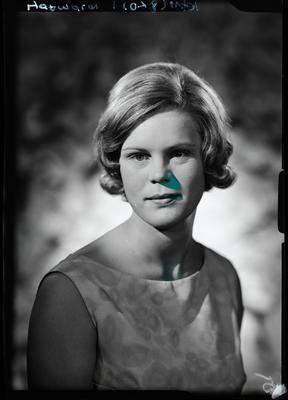 Film negative: Miss Hayward