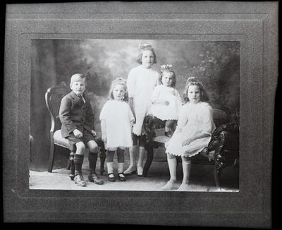 Film negative: Mr Jellie, family