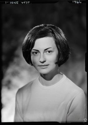 Film negative: Miss Mould, nurse