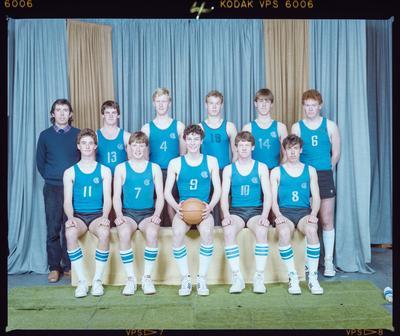 Negative: CBHS Senior Basketball 1985