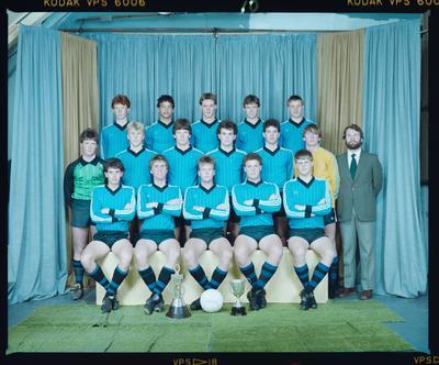 Negative: CBHS 1st XI Soccer 1985