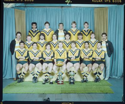 Negative: Papanui Rugby League U19 1985 Team