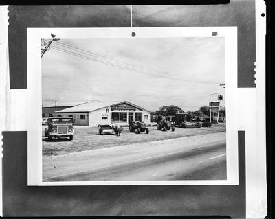Film negative: International Harvester Company: Timaru building