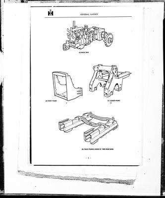Film negative: International Harvester Company: copies of fine drawings