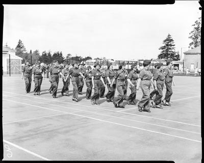 Film negative: Burnham Reunion, New Zealand Women's Royal Army Corps
