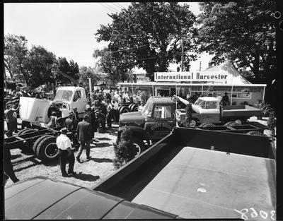 Film negative: International Harvester Company: show stand