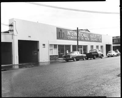 Film negative: International Harvester Company: premises in Tuam Street