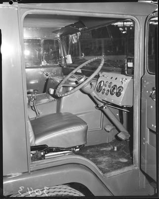 Film negative: International Harvester Company: drivers cab