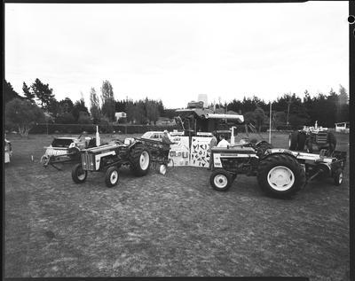 Film negative: International Harvester Company: stand, Rangiora Show
