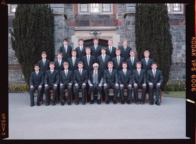 Negative: Christ's College Prefects 1985