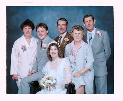 Negative: Sherwood-Watts Wedding