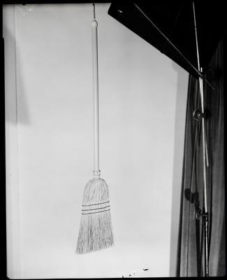 Film negative: International Harvester Company: straw broom